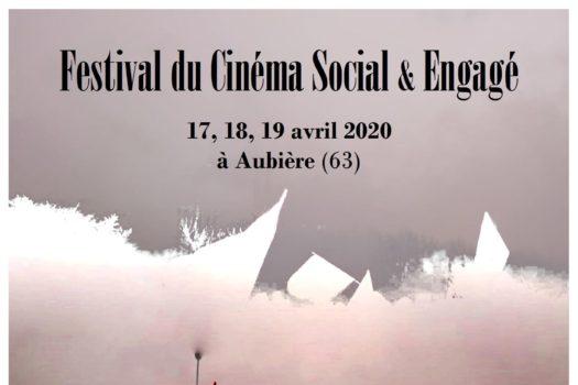 Affiche 2020 du festival du film social et engagé
